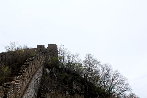 More steep Great Wall - Earth Day clean up hike at the Jiankou Great Wall, 2018/04/22