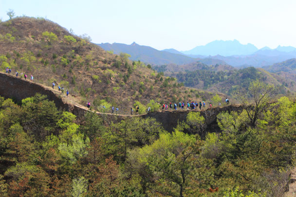 BIBA hike out at Gubeikou Great Wall, 2018/04/25 photo #6