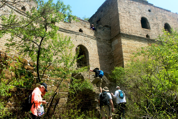 Great Wall Spur hike, 2018/04/28 photo #3
