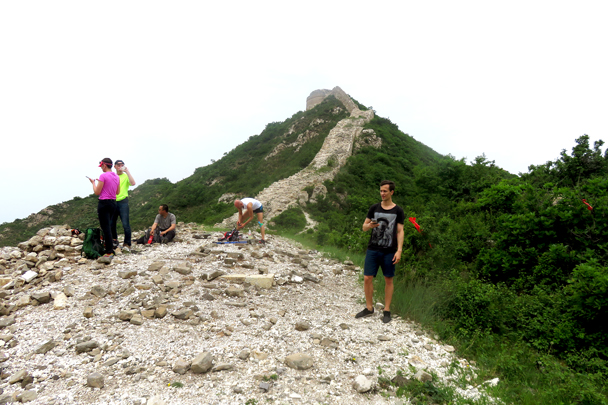 Zhenbiancheng Great Wall and Big Camp Plate Challenge, 2018/05/19 photo #2