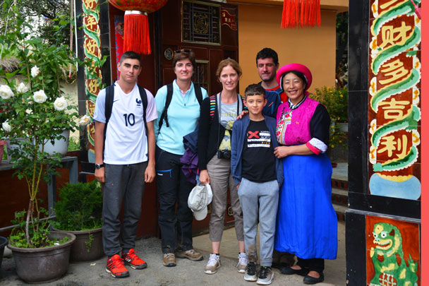 Visiting a local Tibetan family - Lijiang and Shangri-La, Yunnan Province, July 2018