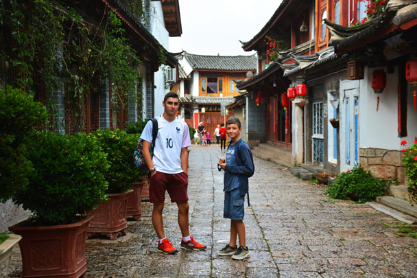 Picture in the Lijiang Old Town - Lijiang and Shangri-La, Yunnan Province, July 2018