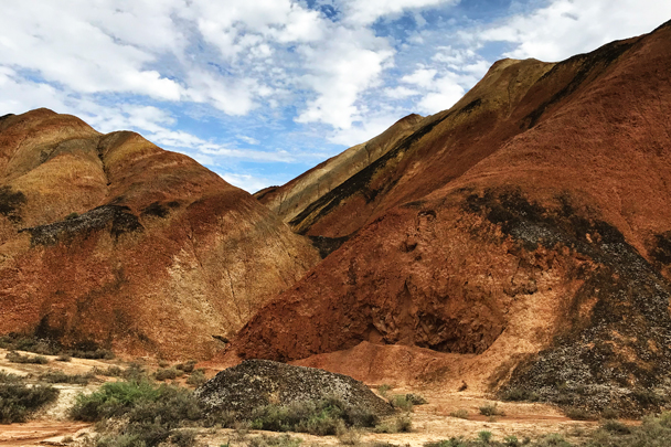 Zhangye Danxia Landform, Gansu Province, 2018/08/15 photo #2