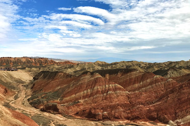 Zhangye Danxia Landform, Gansu Province, 2018/08/15 photo #4