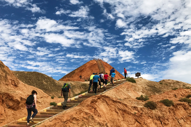 Zhangye Danxia Landform, Gansu Province, 2018/08/15 photo #9