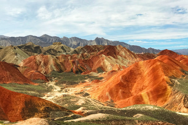 Zhangye Danxia Landform, Gansu Province, 2018/08/15 photo #11