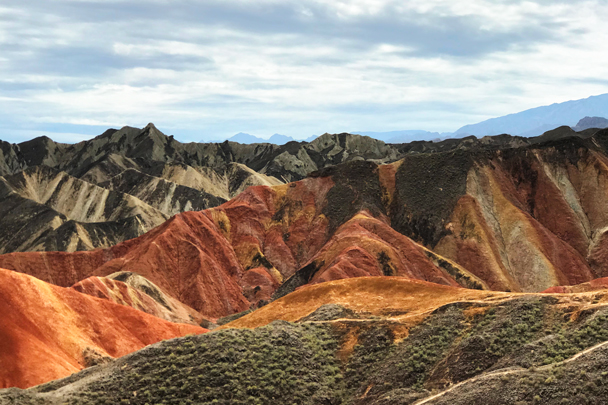 Zhangye Danxia Landform, Gansu Province, 2018/08/15 photo #12