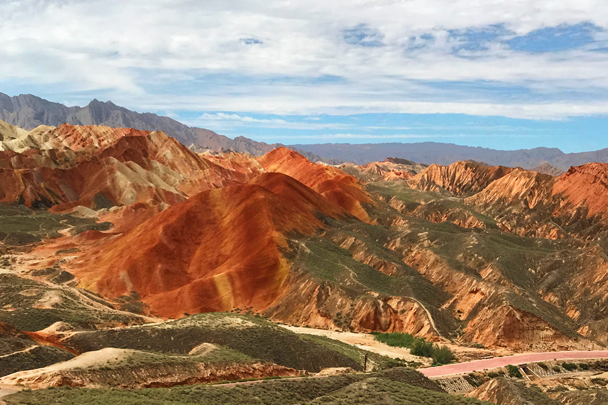 Zhangye Danxia Landform, Gansu Province, 2018/08/15 photo #13