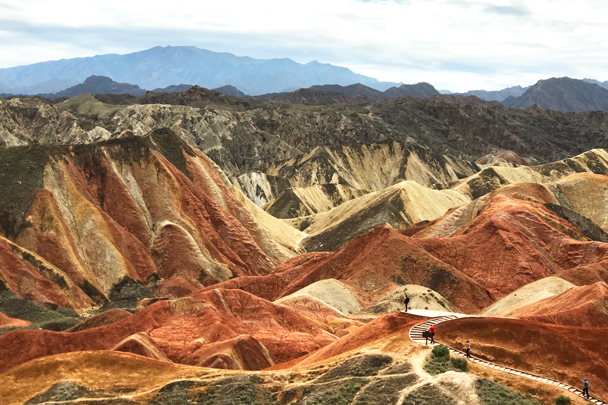 Zhangye Danxia Landform, Gansu Province, 2018/08/15 photo #15