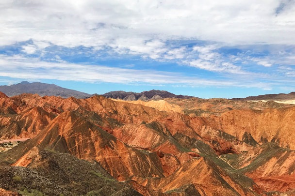 Zhangye Danxia Landform, Gansu Province, 2018/08/15 photo #16