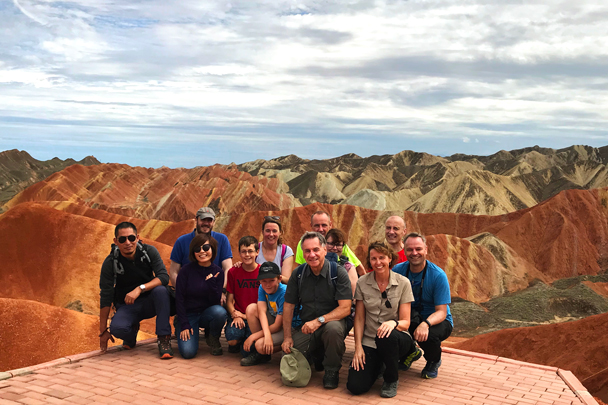 Zhangye Danxia Landform, Gansu Province, 2018/08/15 photo #17