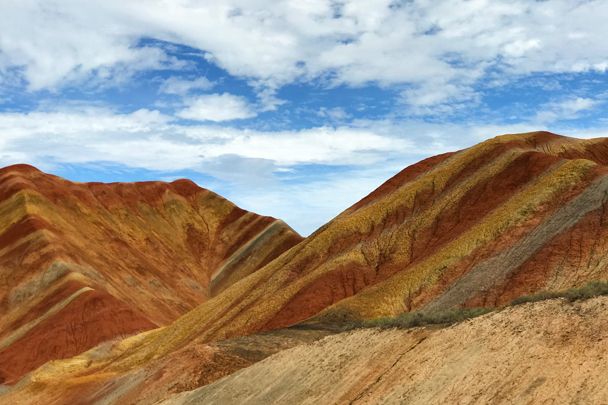 Zhangye Danxia Landform, Gansu Province, 2018/08/15 photo #18