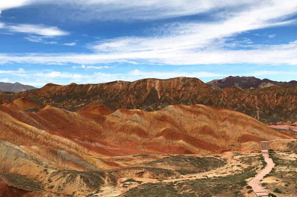 Zhangye Danxia Landform, Gansu Province, 2018/08/15 photo #19