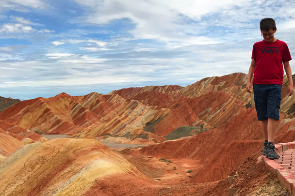 Zhangye Danxia Landform, Gansu Province, 2018/08/15 photo #21