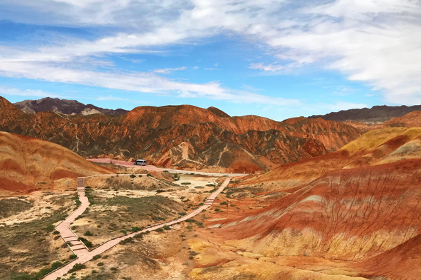 Zhangye Danxia Landform, Gansu Province, 2018/08/15 photo #22