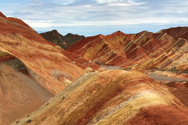 Zhangye Danxia Landform, Gansu Province, 2018/08/15 photo #23