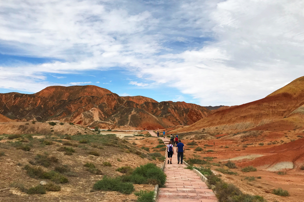 Zhangye Danxia Landform, Gansu Province, 2018/08/15 photo #24