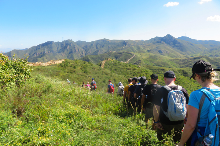 Yanqing Great Wall and High Tower Challenge, 2018/09/08 photo #9