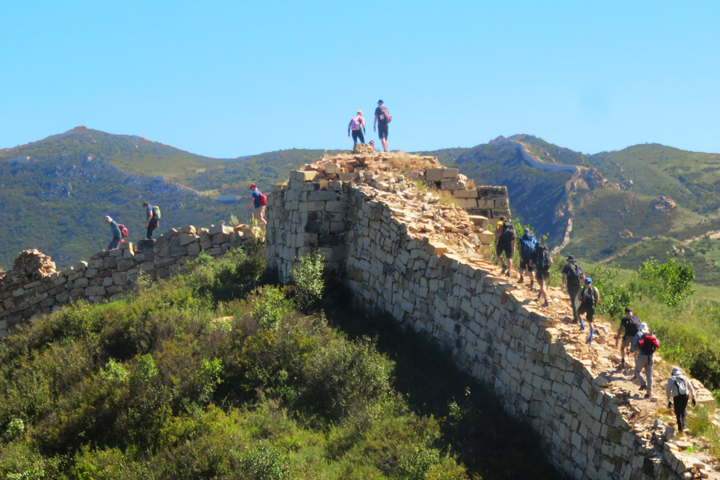 Yanqing Great Wall and High Tower Challenge, 2018/09/08 photo #13