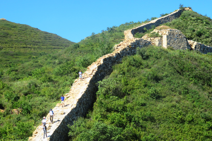 Yanqing Great Wall and High Tower Challenge, 2018/09/08 photo #14