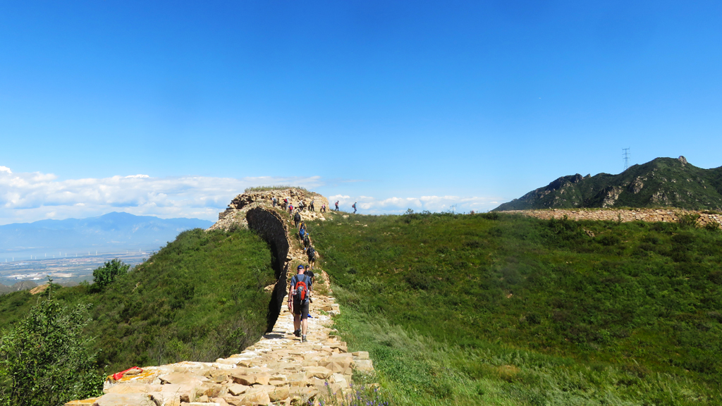 Yanqing Great Wall and High Tower Challenge, 2018/09/08