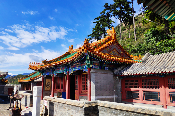Yinmeng Temple and Sujia River, 2018/09/14 photo #15