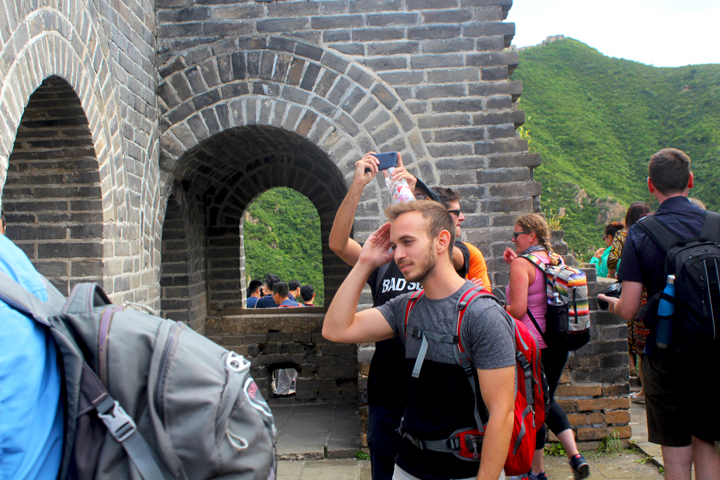 Great Wall Huanghuacheng to the Walled Village, 2018/09/15 photo #2
