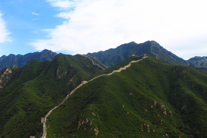 Great Wall Huanghuacheng to the Walled Village, 2018/09/15 photo #9