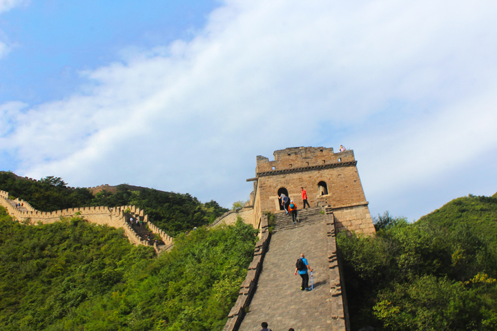 Great Wall Huanghuacheng to the Walled Village, 2018/09/15 photo #11