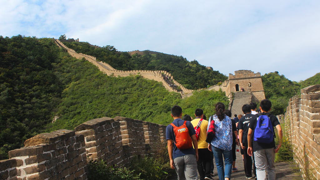 Great Wall Huanghuacheng to the Walled Village, 2018/09/15