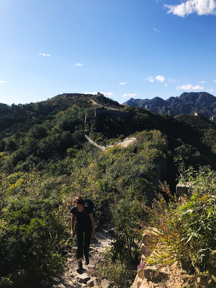 Sunset over the Huanghuacheng Great Wall, 2018/09/22 photo #4