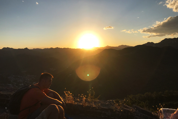 Sunset over the Huanghuacheng Great Wall, 2018/09/22 photo #9