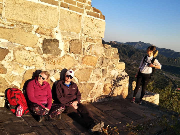 Sunset over the Huanghuacheng Great Wall, 2018/09/22 photo #13