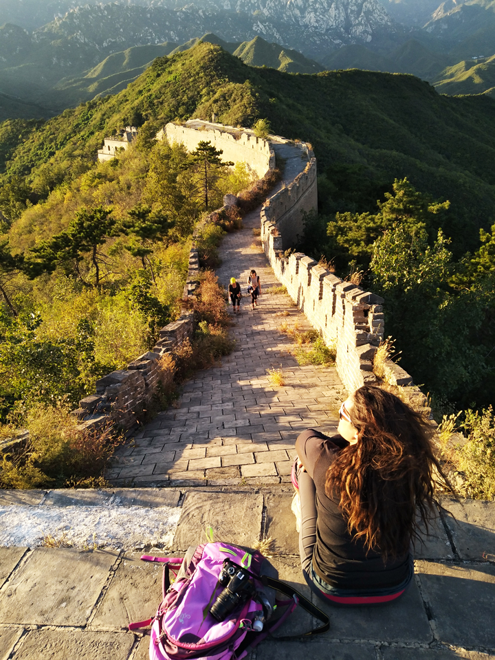 Sunset over the Huanghuacheng Great Wall, 2018/09/22 photo #14