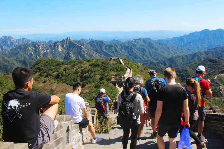 Jiankou to Mutianyu Great Wall, 2018/09/24 photo #14