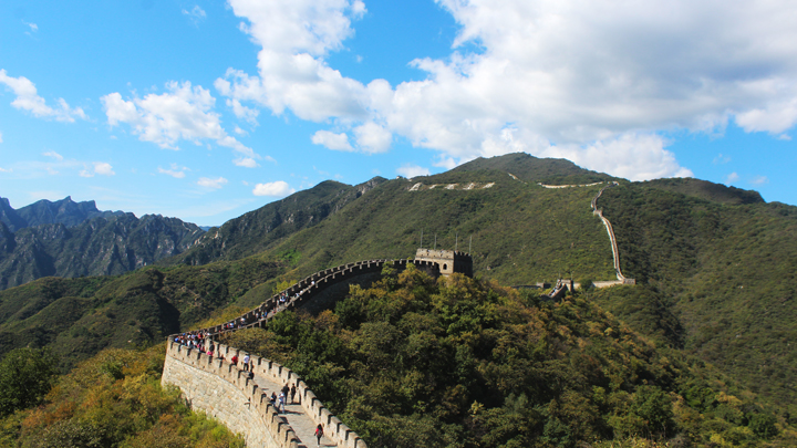 Jiankou to Mutianyu Great Wall, 2018/09/24