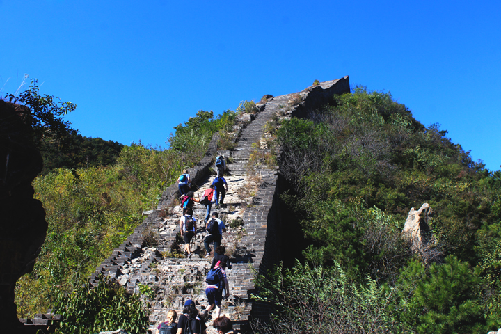 -Huanghuacheng Great Wall to the Walled Village, 2018/10/01 photo #7