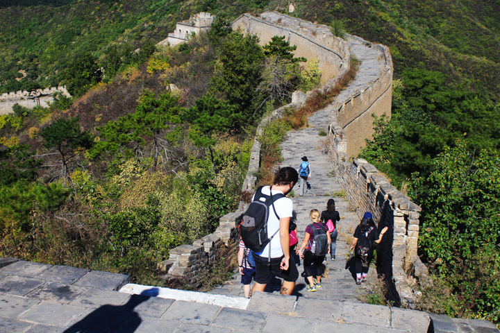 -Huanghuacheng Great Wall to the Walled Village, 2018/10/01 photo #17