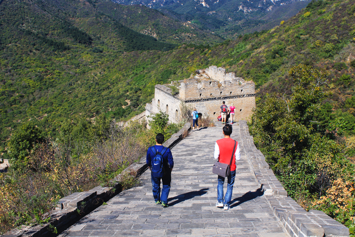 -Huanghuacheng Great Wall to the Walled Village, 2018/10/01 photo #18