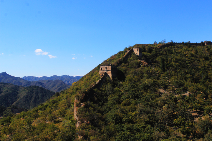 -Huanghuacheng Great Wall to the Walled Village, 2018/10/01 photo #22
