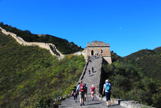 Huanghuacheng Great Wall to the Walled Village, 2018/10/01