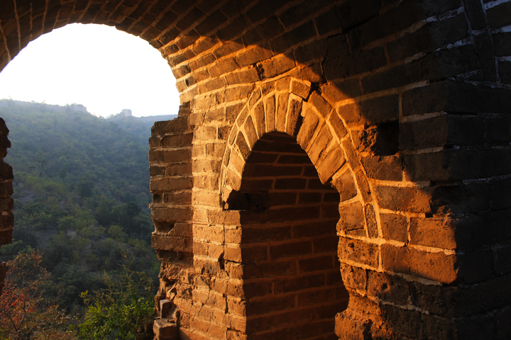 Sunset over the Huanghuacheng Great Wall, 2018/10/05 photo #8