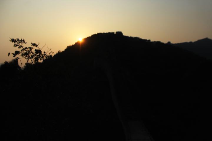 Sunset over the Huanghuacheng Great Wall, 2018/10/05 photo #10