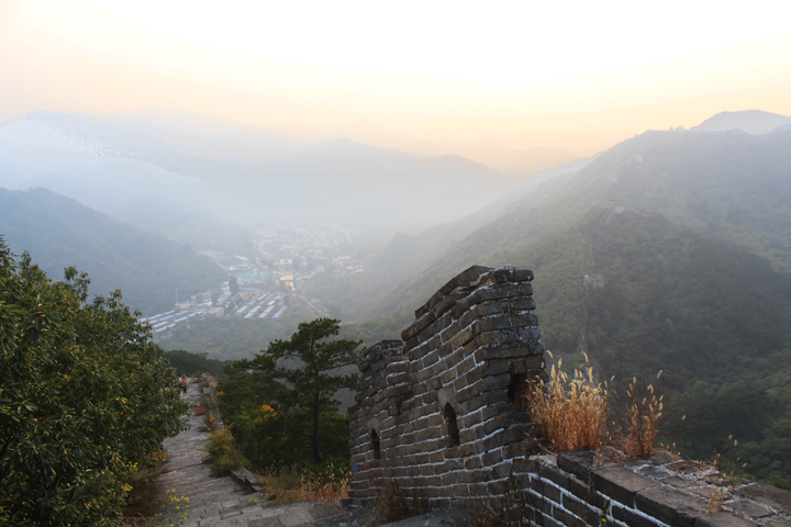 Sunset over the Huanghuacheng Great Wall, 2018/10/05 photo #12