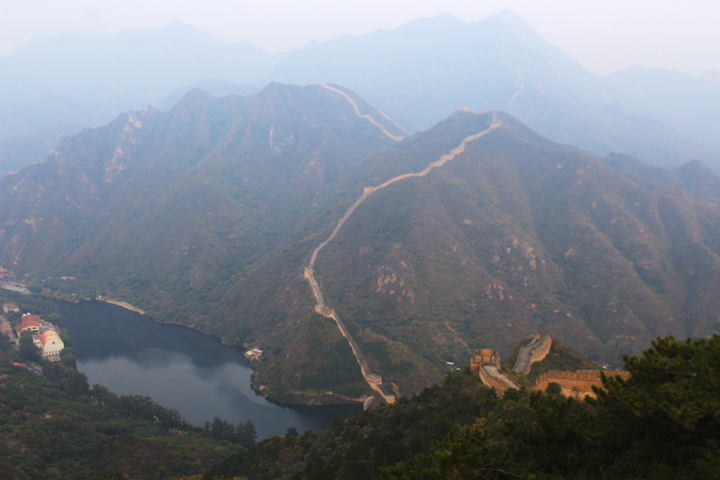 Sunset over the Huanghuacheng Great Wall, 2018/10/05 photo #13