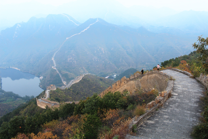 Sunset over the Huanghuacheng Great Wall, 2018/10/05 photo #15