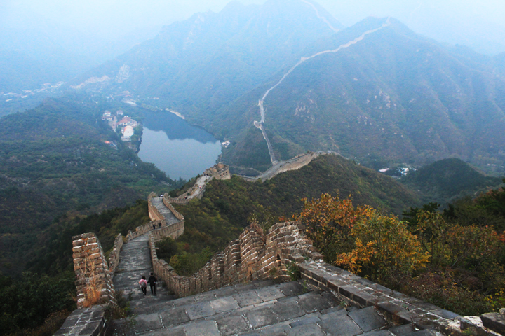 Sunset over the Huanghuacheng Great Wall, 2018/10/05 photo #16