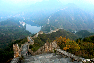 Sunset over the Huanghuacheng Great Wall, 2018/10/05