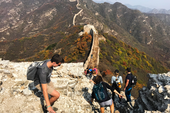Zhenbiancheng Great Wall Loop, 2018/10/05 photo #13