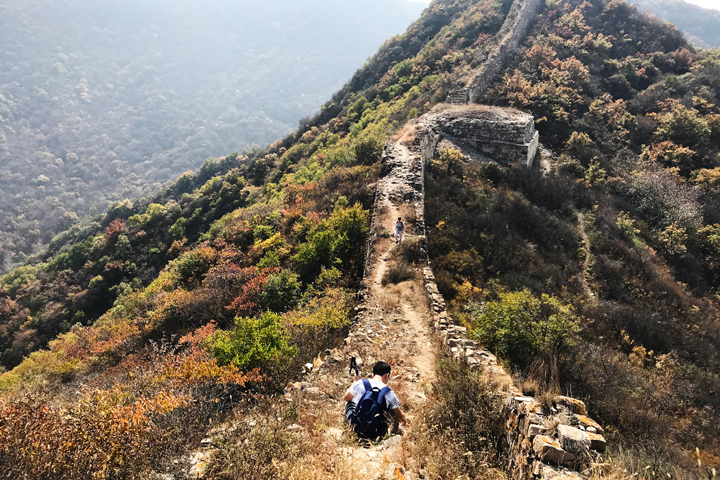 Zhenbiancheng Great Wall Loop, 2018/10/05 photo #16